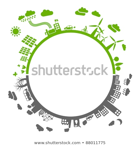 Stockfoto: Save The Earth Abstract Eco Backgrounds For Your Design