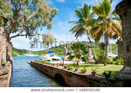 Nelson's Dockyard in Antigua Stock photo © luissantos84