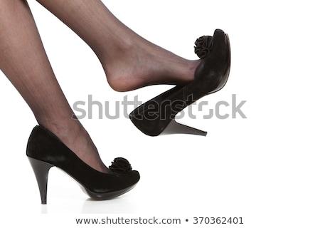 Feminino corpo meia-calça isolado branco mulher Foto stock © pxhidalgo