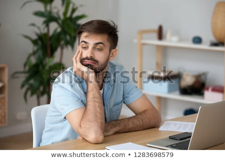 Stock photo: Absent minded.