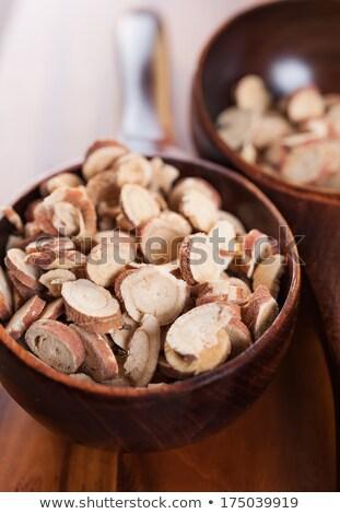 Zdjęcia stock: Posiekane · korzeń · tle · gotowania · zdrowych
