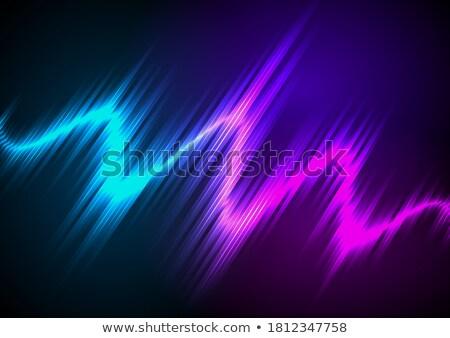 Purple · Tech · современных · аннотация · свет · эффект - Сток-фото © beholdereye