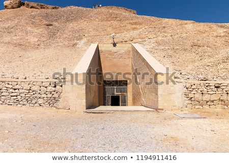 burial chamber of an egyptian pharaoh stock photo © tepic