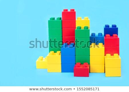 Stock Trading on Multicolor Puzzle. Stock photo © tashatuvango