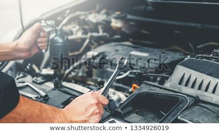 автомобилей · двигатель · подробность · Gear · цепь - Сток-фото © nneirda