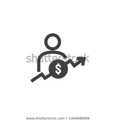 dólares · seta · traçar · negócio · grupo · vermelho - foto stock © designers