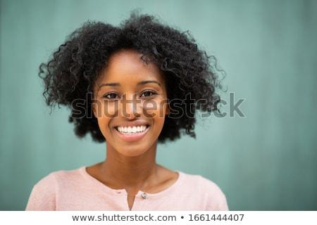 Woman teeth stock photo © Kurhan