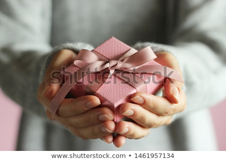 представляет шкатулке аннотация окна почты Сток-фото © andromeda