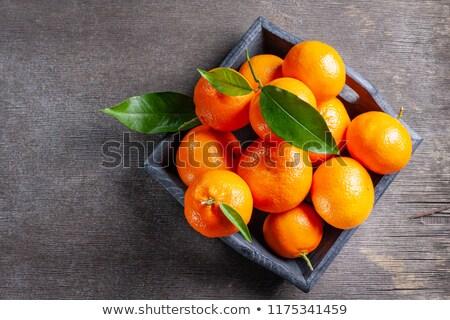 マンダリン オレンジ フルーツ 健康 表 皮膚 ストックフォト © yelenayemchuk