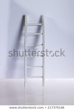 escada · rachar · teto · fundo · sombra - foto stock © flipfine
