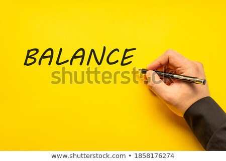 Hand with pen writing the word Depression Stock photo © Zerbor