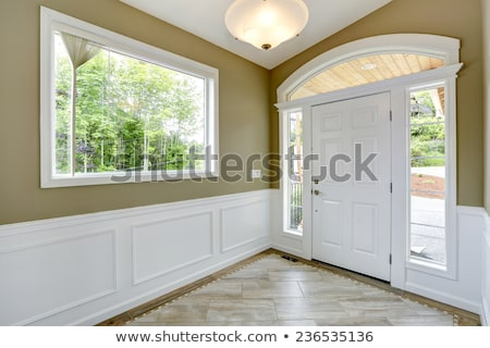 Stock photo: trim for doors