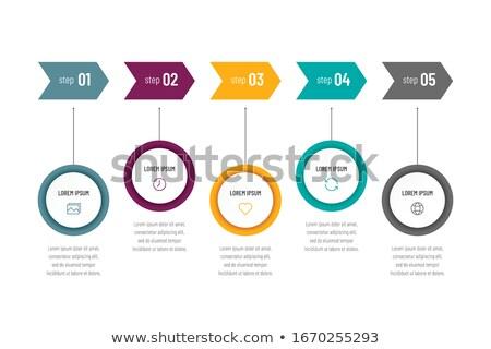 moderno · negócio · estatística · tela · eps - foto stock © davidarts