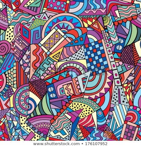 kleurrijk · psychedelic · abstract · ontwerp · kunst · regenboog - stockfoto © latent