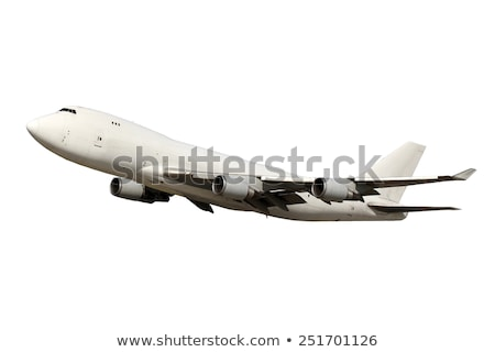 cargo aircraft isolated on white Stock photo © ssuaphoto