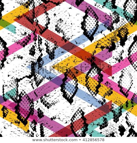 Senza soluzione di continuità disegno geometrico colore carta abstract Foto d'archivio © aliaksandra
