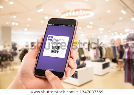 Hand Clicking Coupons Button Stock photo © ivelin