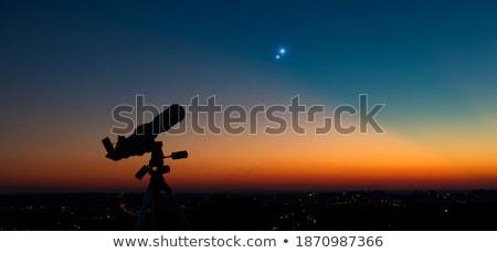 Saturn with Moons Stock photo © alexaldo