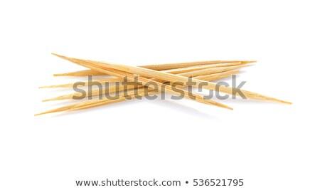 ストックフォト: 木製 · グレー · 洗浄 · 歯 · 食事