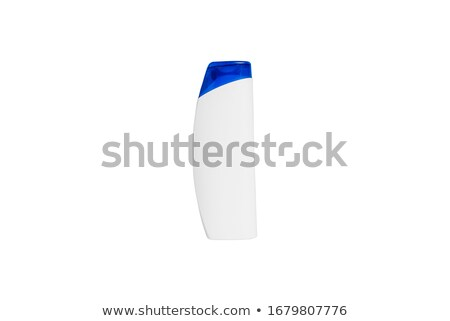 Mavi duş jel şampuan şişe beyaz Stok fotoğraf © stevanovicigor