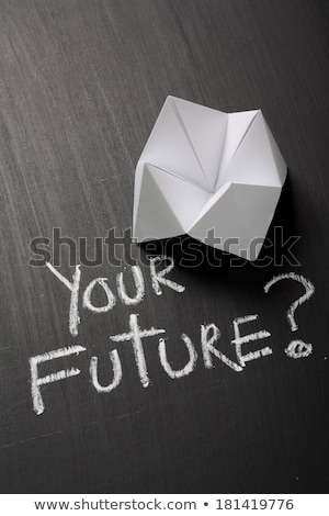 占い師 紙 友達 将来 白 選択 ストックフォト © fuzzbones0