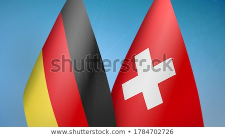 Germany and Switzerland Flags Stock photo © Istanbul2009