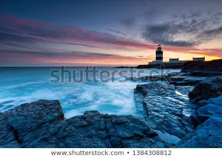 灯台 · 半島 · アイルランド · 道路 · 建物 - ストックフォト © igabriela
