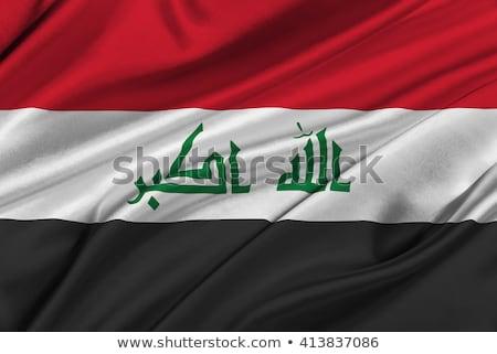 Reino Unido Iraque bandeiras quebra-cabeça isolado branco Foto stock © Istanbul2009