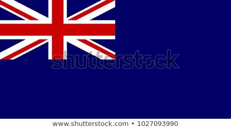 union · jack · bandeira · Reino · Unido · vermelho · branco · inglaterra - foto stock © bigalbaloo