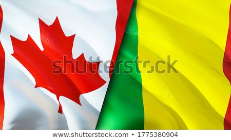 Canada and Mali Flags  Stock photo © Istanbul2009
