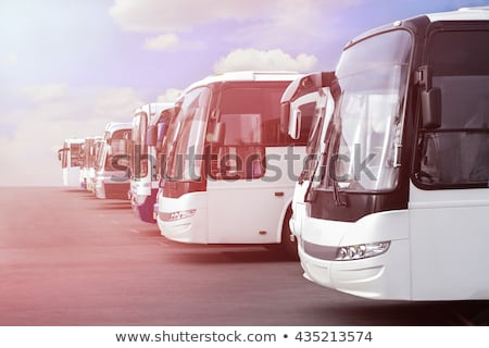 Stock photo: big bus