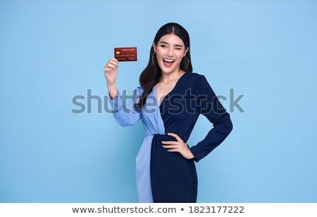 ventes · assistant · client · vêtements · magasin · femme - photo stock © kzenon