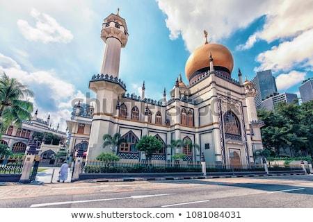 Oração mesquita ao ar livre muçulmano homem oração Foto stock © Jasminko