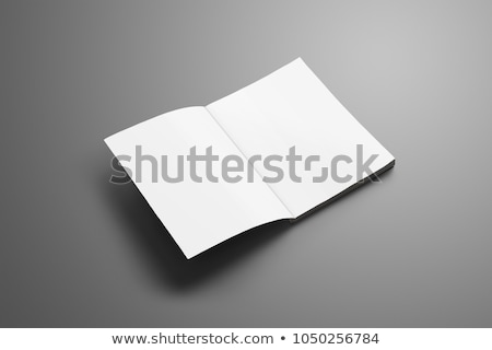 blank book opened to the first page stock photo © photooiasson