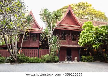 バンコク · 景観 · 表示 · 市 · 建物 · タイ - ストックフォト © mikko