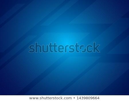 Stok fotoğraf: Teknoloji · mavi · diyagonal · soyut · vektör