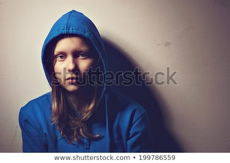 Upset teenage girl Stock photo © simply