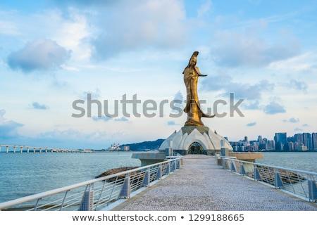 kun iam statue macau stock photo © vichie81