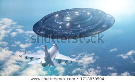 ufo · exóticas · secuestro · 3d · personas · buque - foto stock © idesign