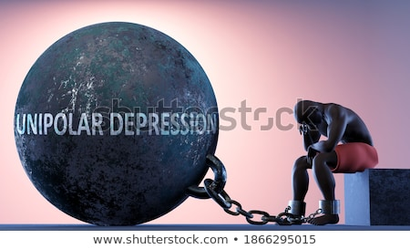 Ball And Chain Dark Stock photo © albund
