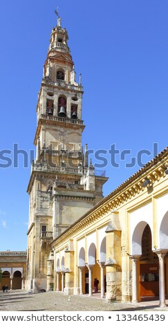 Bell tower of La Mezquita in Cordoba  Stock photo © compuinfoto