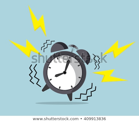 ritardare · tempo · clock · imprenditore · sveglia · ufficio - foto d'archivio © fisher