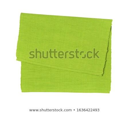 green place mat Stock photo © Digifoodstock