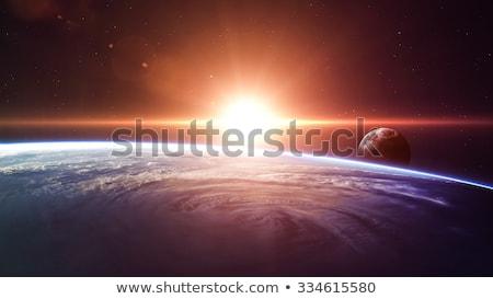 zonnestelsel · planeet · zon · acht · planeten · aarde - stockfoto © nasa_images