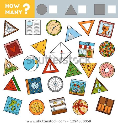 How many Geometric shapes  Stock photo © Olena