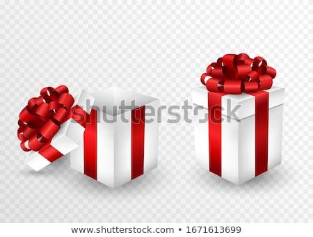 Red giftbox Stock photo © Saphira