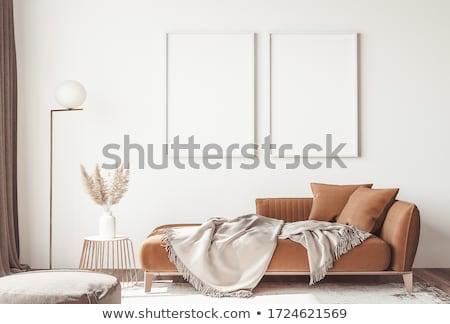 Metal orange lamp Stock photo © bezikus