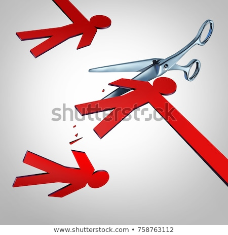 Cut The Middleman Commerce Concept Stock photo © Lightsource