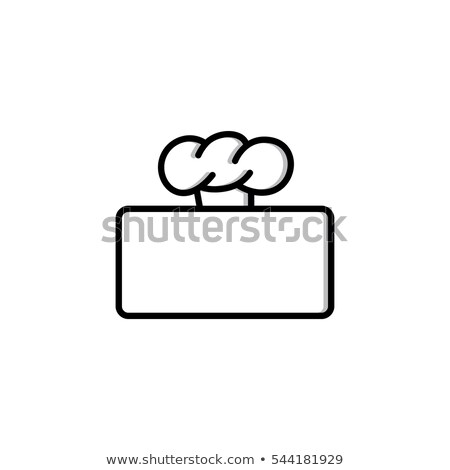 chef hat logo logotype theme with blank Stock photo © vector1st