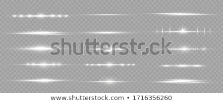 glowing light streaks with sparkles transparent background Stock photo © SArts